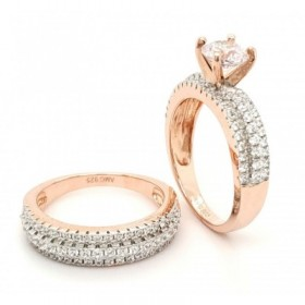 Micro Pave Sterling Silver...