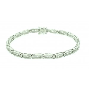 Micro Pave 925 Sterling...